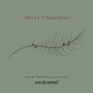 Merry Christmas🎄⁠ Thank you for a year of new opportunities and great support! We wish you a Merry Christmas and happy new year.⁠ ⁠ #wedowood #merrychristmas #holidays #xmas #family #christmastime #winter #happyholidays #design #december