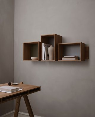 The SJ Bookcase is redefining the traditional bookcase. With the three removable shelves it gives you the freedom to rearrange over time, and thereby giving the SJ Bookcase as new expression.   #wedowood #sustainabledesign #homedecor #bookcase #interior