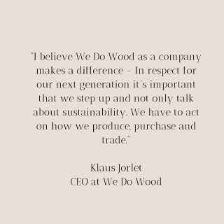 We Do make a difference 🤍 Please visit our homepage to read more about our products and philosophy 🌍🌱♻️ #wedowood #sustainabledesign #sustainablefurniture #danishdesign #scandinaviandesign #scandinavianhome #scandinavianliving